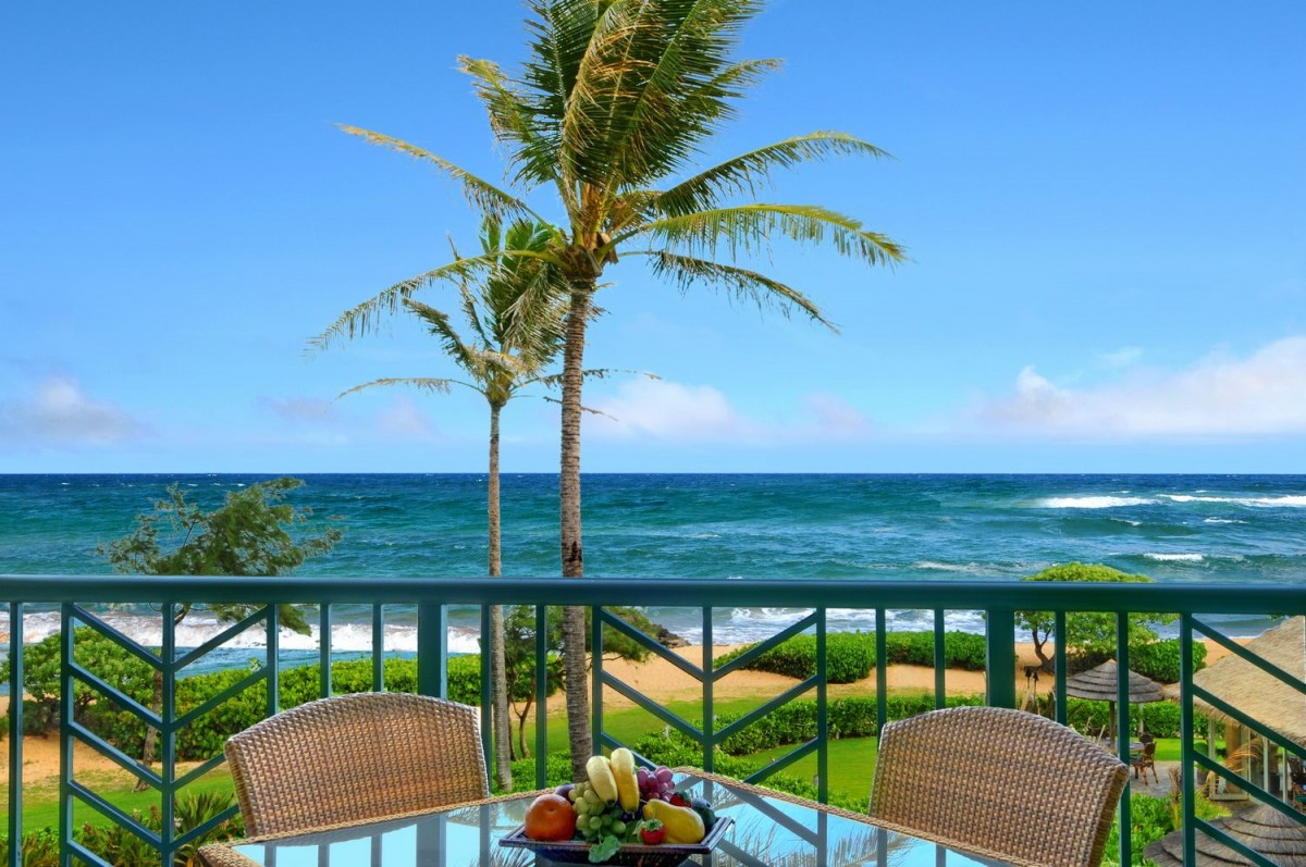Oceanfront from Lanai