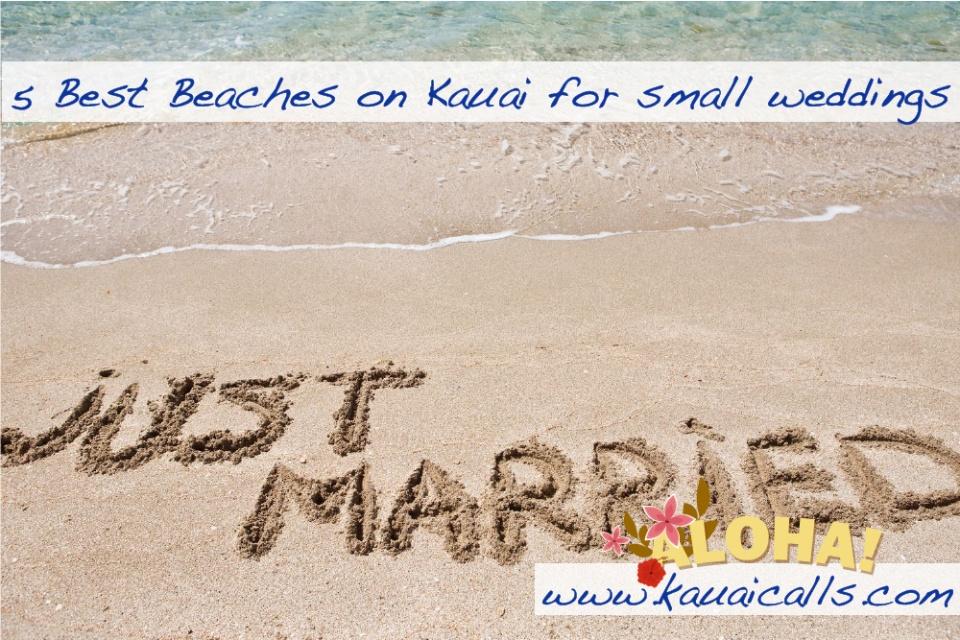 Beach Weddings On Kauai