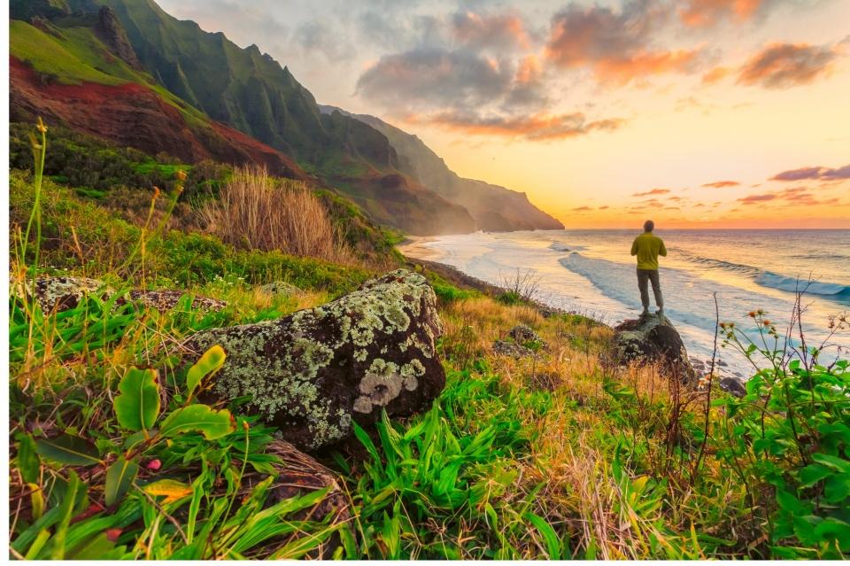 hiking kauai trails