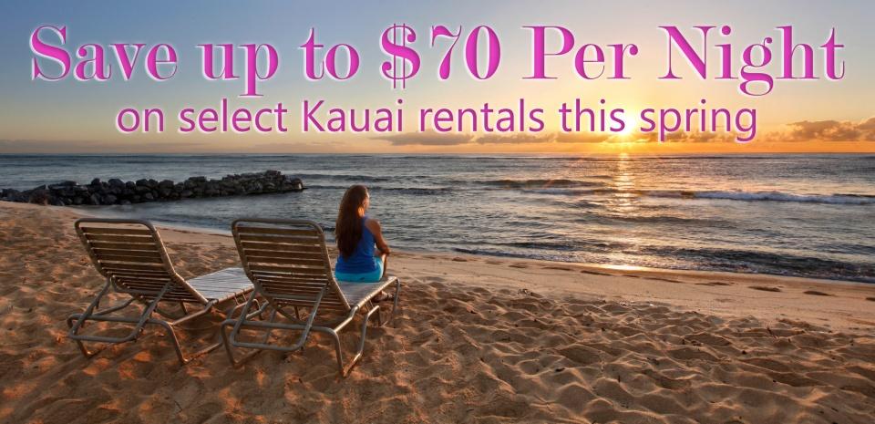 Kauai Spring Savings