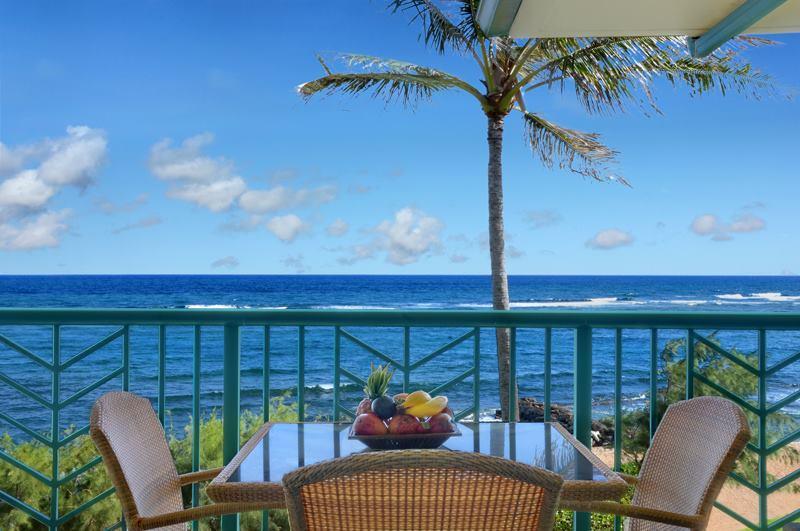 oceanfront kauai condo rentals